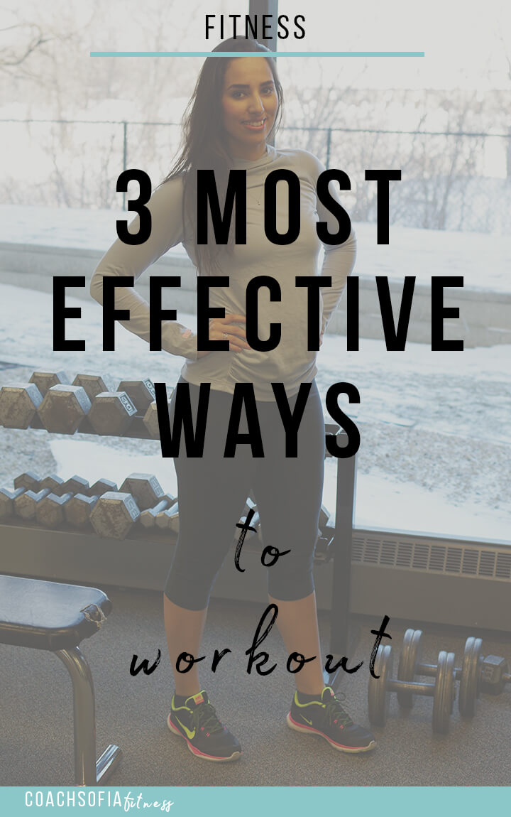 the 3 most effective ways to workout | workout beginner | gym beginner