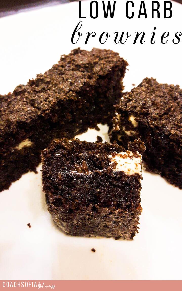 low carb sugar free brownies | chocolate brownies