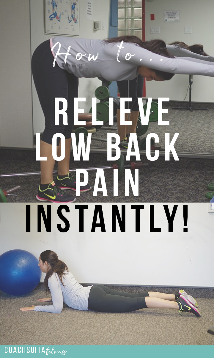 relieve low back pain | piriformis syndrome and sciatica with these exercises
