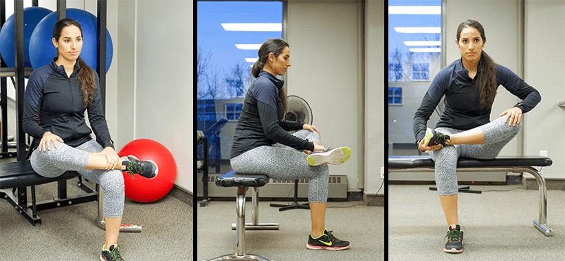 How to do a proper squat | how to do a squat | piriformis stretch| low back pain