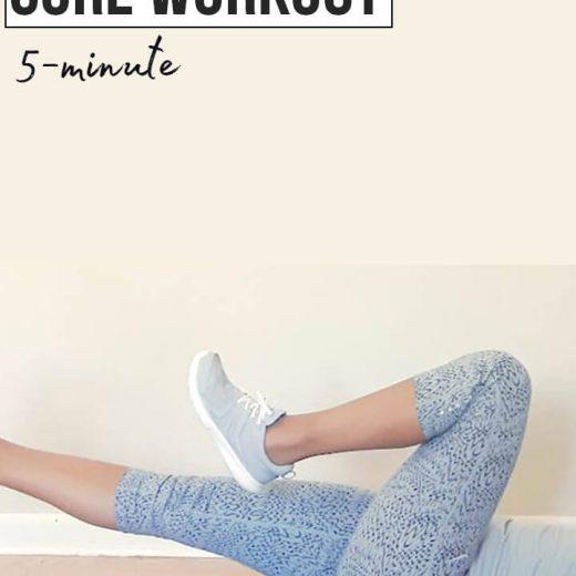 No crunch core workout - lumbar stabilization (5 minute low impact #5) | low back pain relief | core exercises for low back | abs exercises without crunches