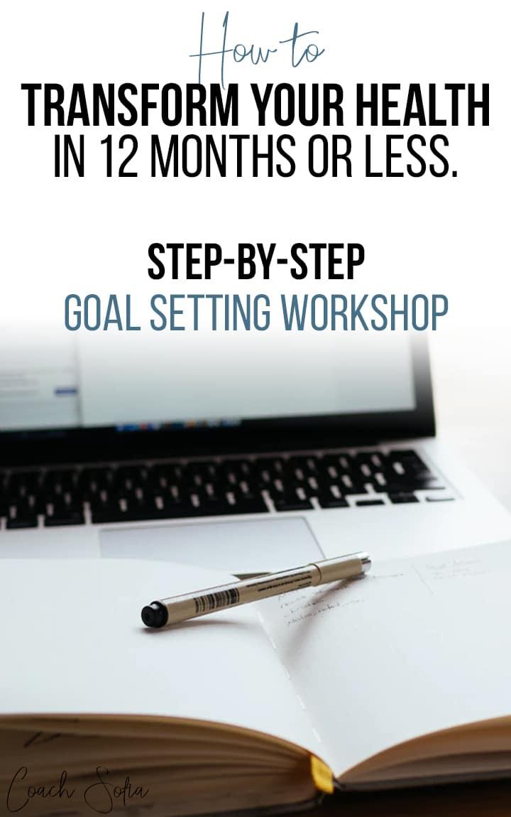 set smart goals for your health goal setting workshop