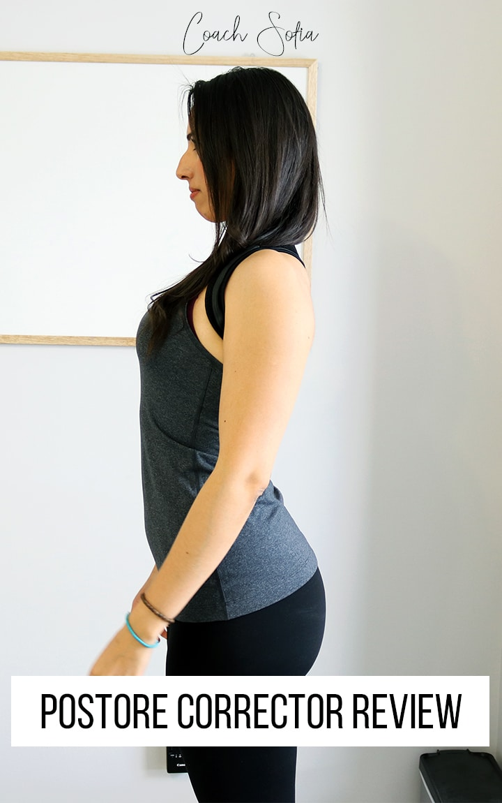 Fix rounded shoulder posture with posture corrector
